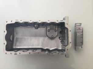 VOLKSWAGEN GOLF 1997-2006 1.6 PETROL & 1.9 DIESEL, ENGINE OIL SUMP PAN & SEALER